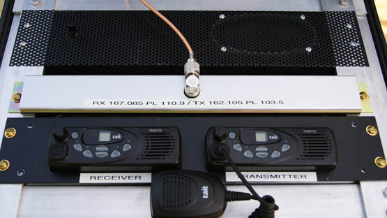 Portable / Fixed Station High Power VHF Repeater